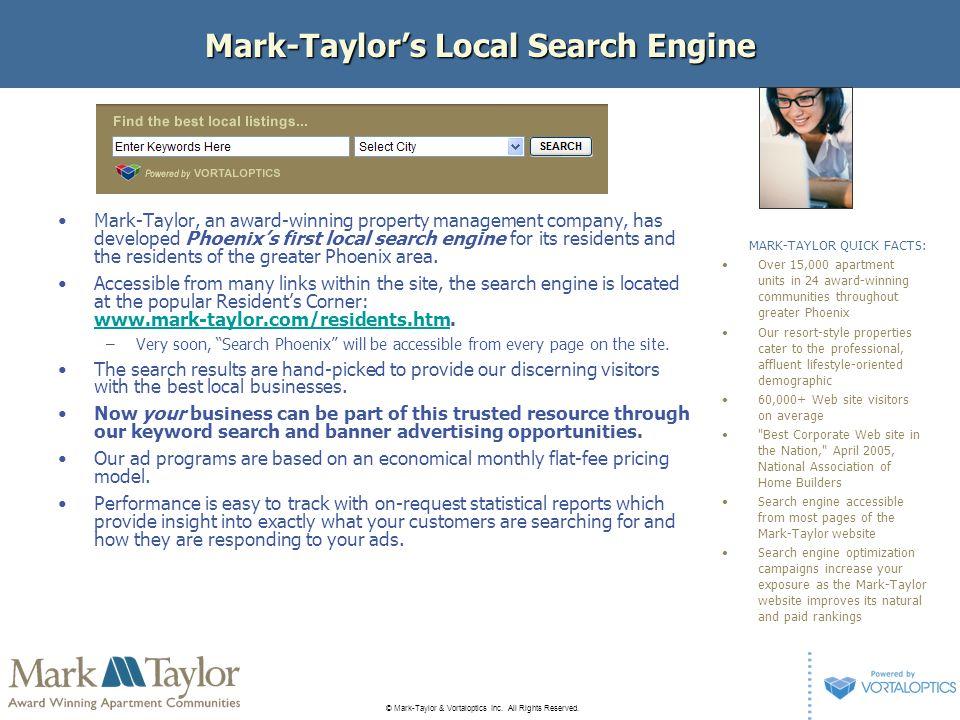 © Mark-Taylor & Vortaloptics Inc.All Rights Reserved.