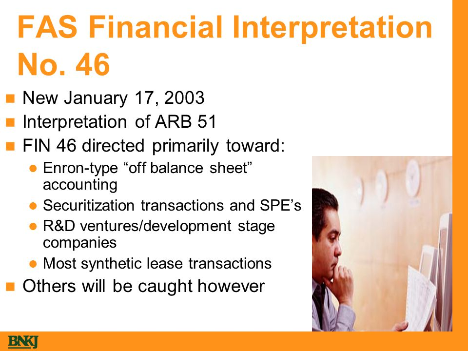 FAS Financial Interpretation No.