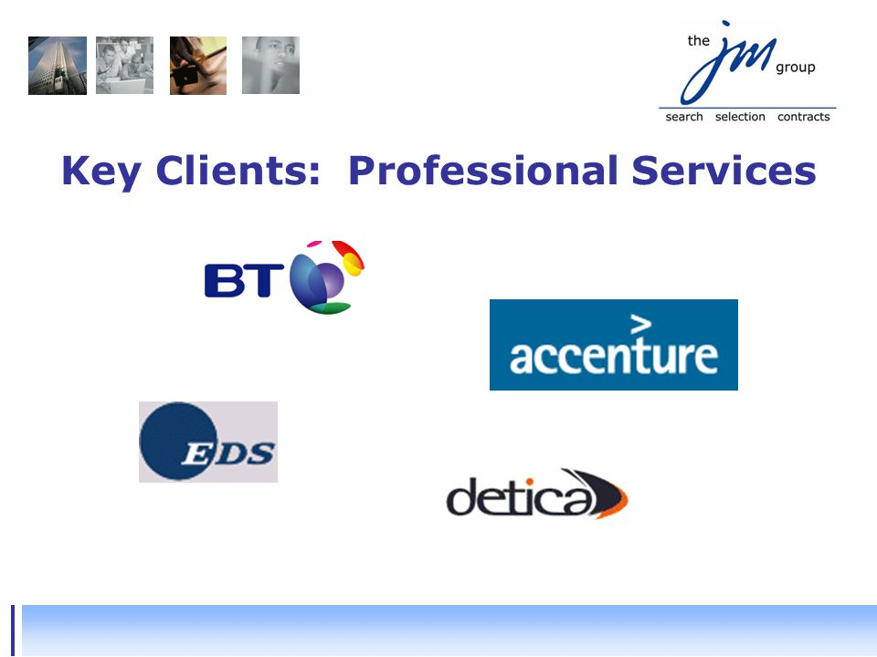 Key Clients: Professional Services