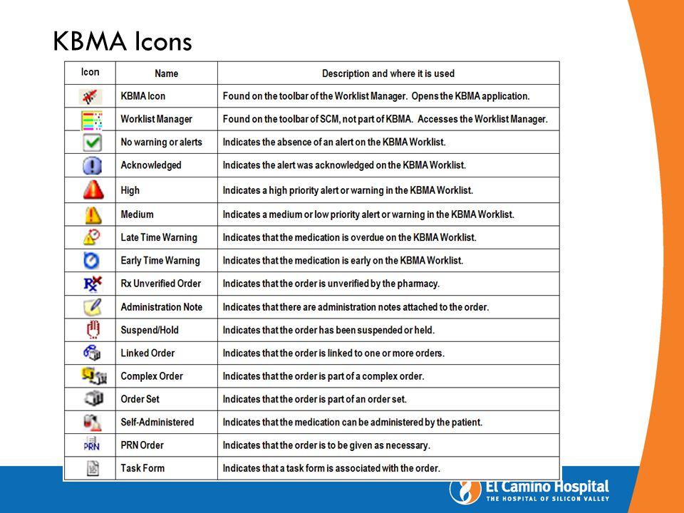 KBMA Icons
