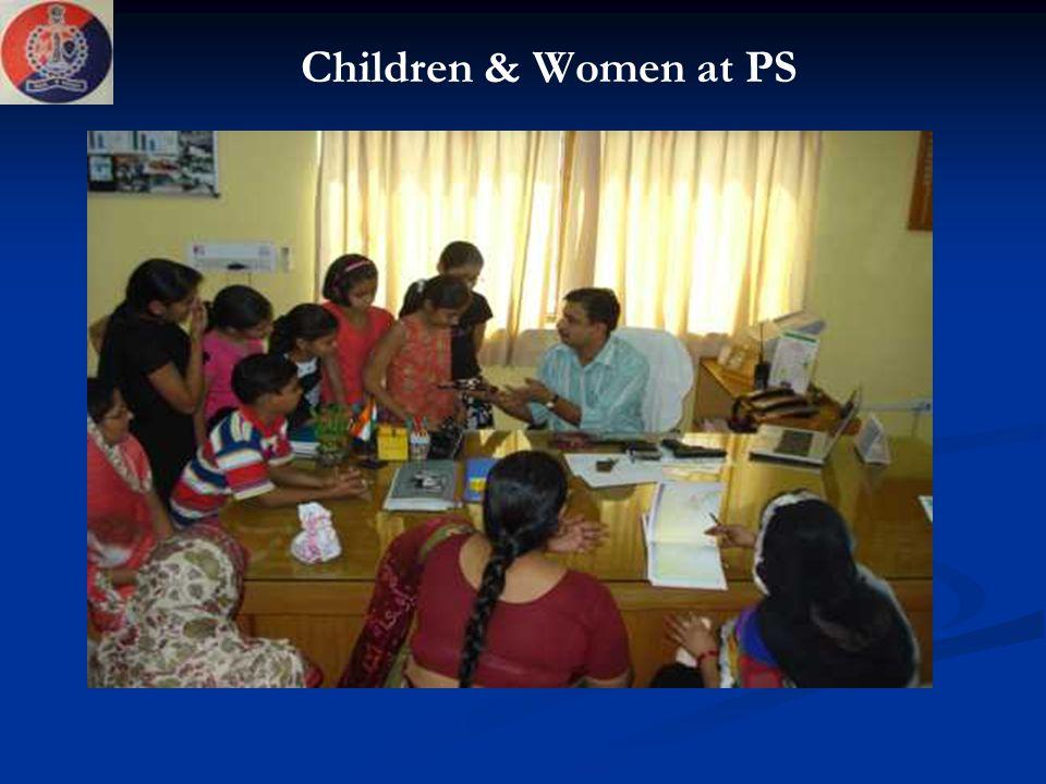 Children & Women at PS