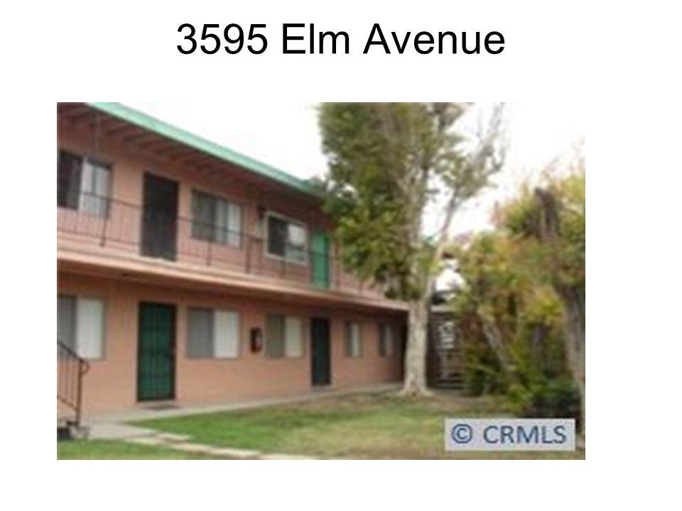 Recent Sale Information 3595 Elm Avenue