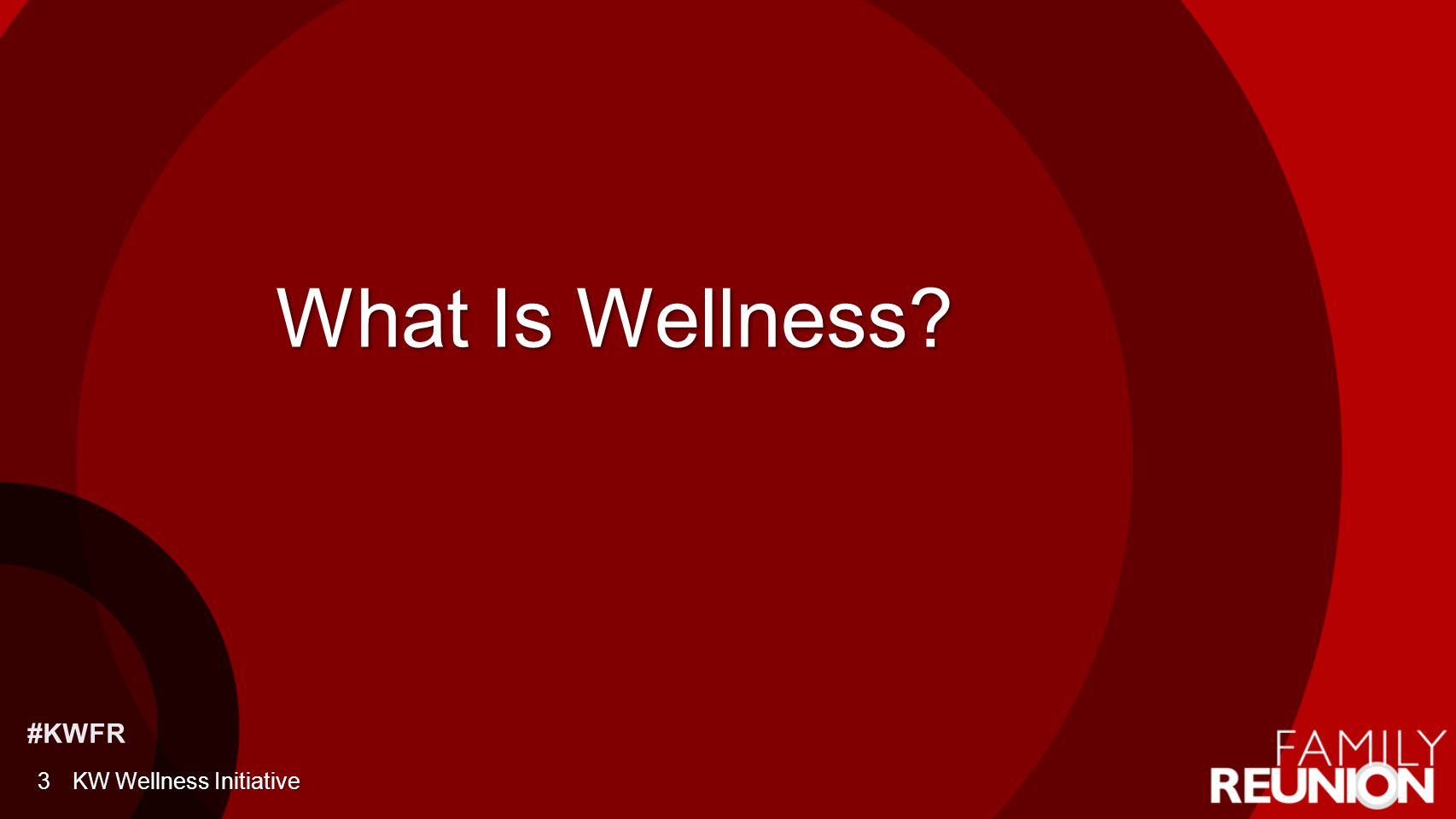 #KWFR Call to Action 14KW Wellness Initiative