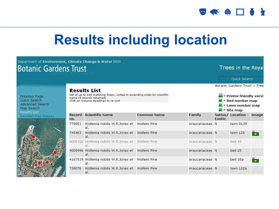 Collections Management 2 September 2005 Results including location