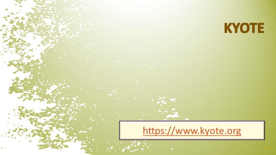 17 https://www.kyote.org
