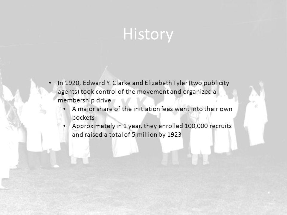 History In 1920, Edward Y.
