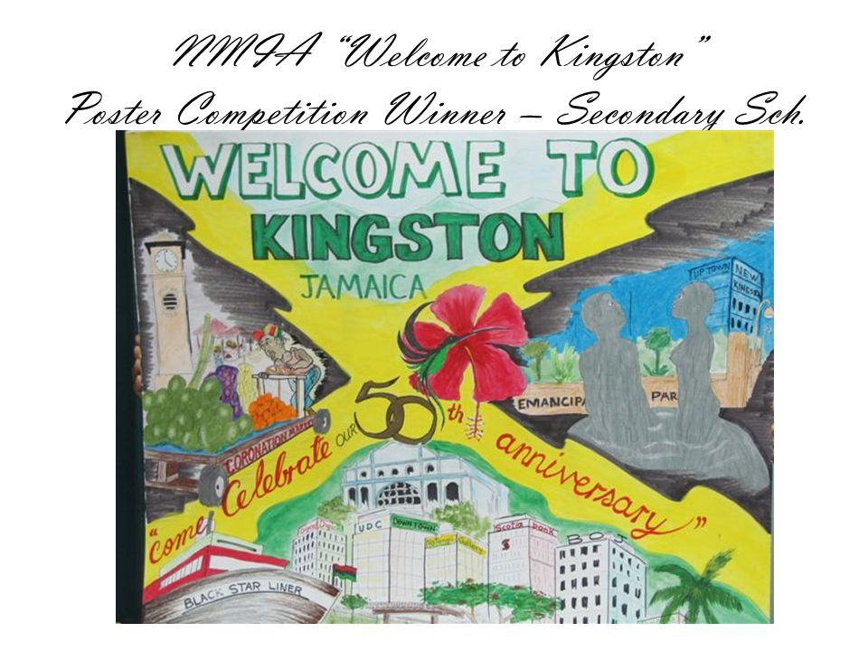 NMIA Welcome to Kingston Poster Competition Winner – Secondary Sch.
