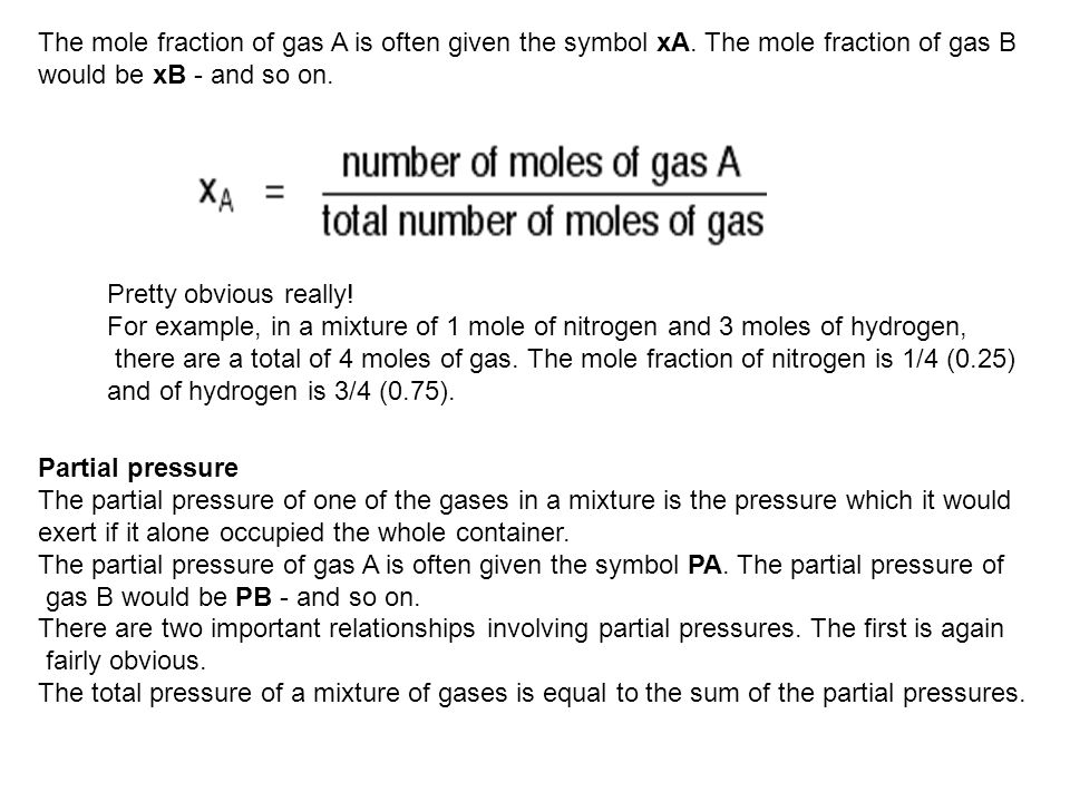 It is easy to see this visually: Gas A is creating a pressure (its partial pressure) when its molecules hit the walls of its container.