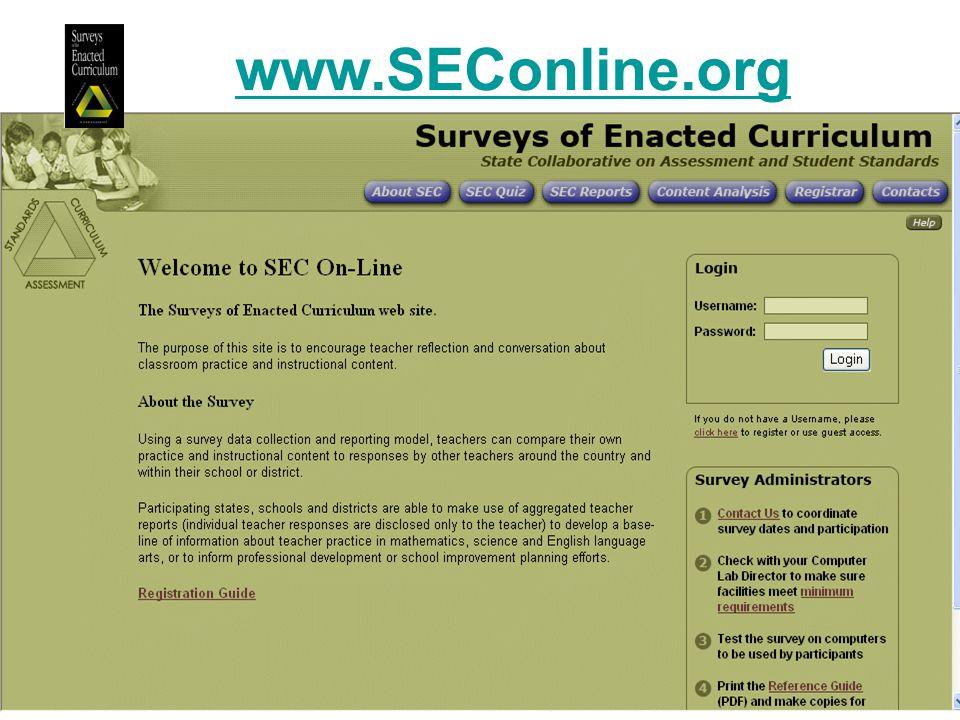 www.SEConline.org