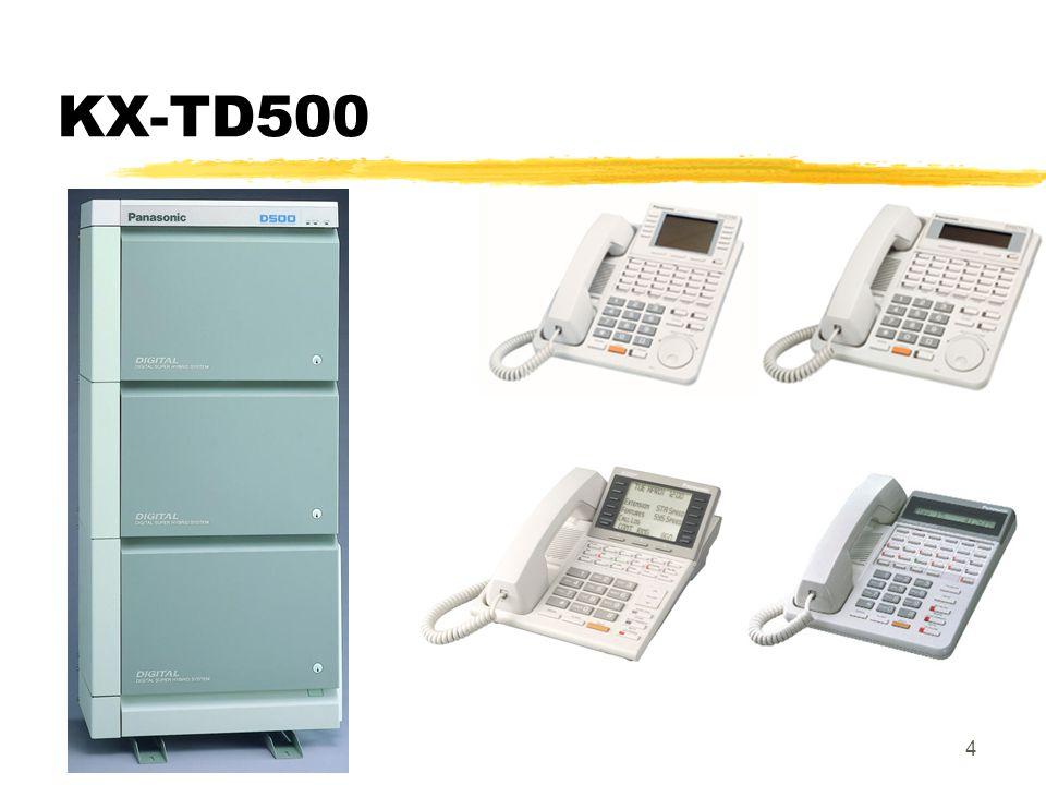 4 KX-TD500