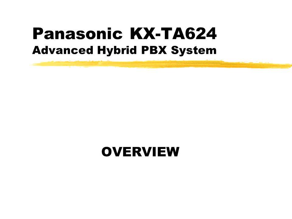 KX-TA 021200 TT2 System Outline zInitial configuration is 3 CO X 8 Stations zKX-TA62460 Doorphone / Door Opener Card zKX-TA62470 Card adds 8 Stations zKX-TA62477 Card adds 3 CO X 8 Stations zKX-TA62491 DISA / Fax Detection Card zKX-TA62493 Caller ID Card for 3 CO lines