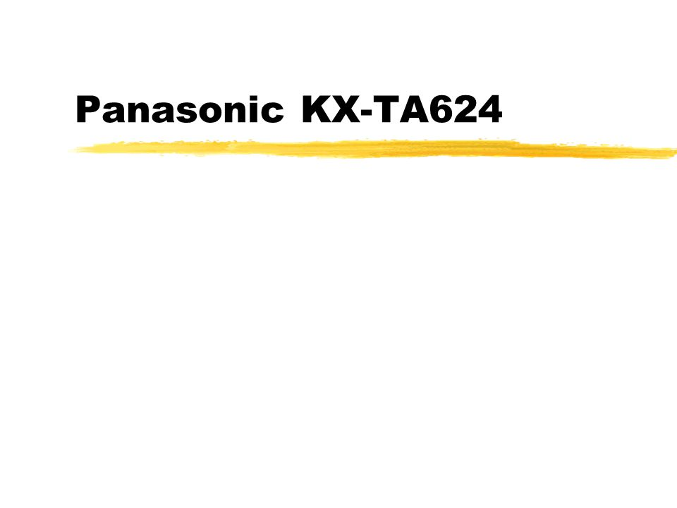 Panasonic KX-TA624