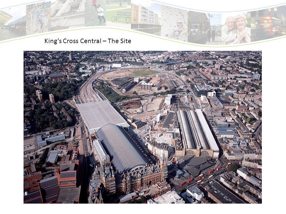 King's Cross Central – The Site