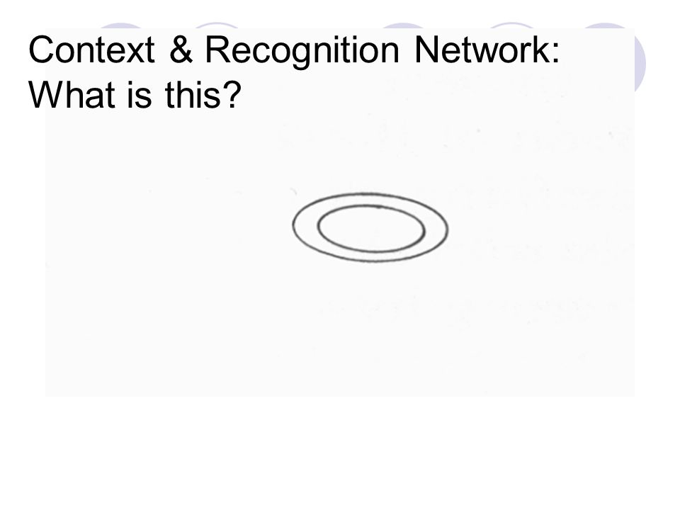 Context & Recognition Network: What is this?