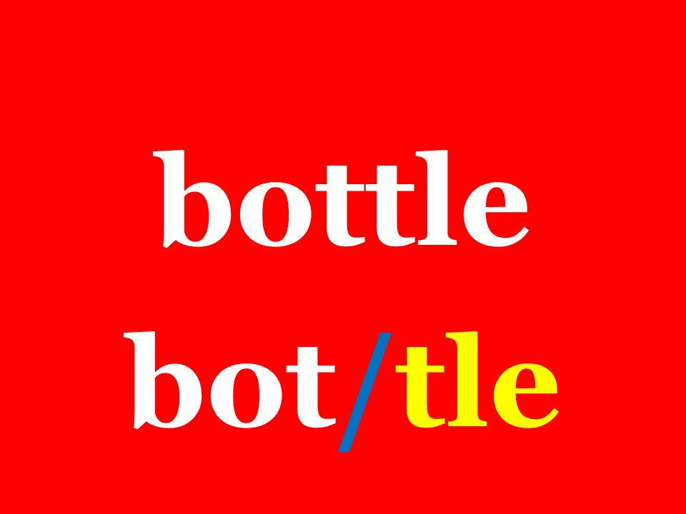 bottle bot/tle