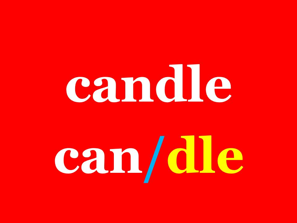 candle can/dle