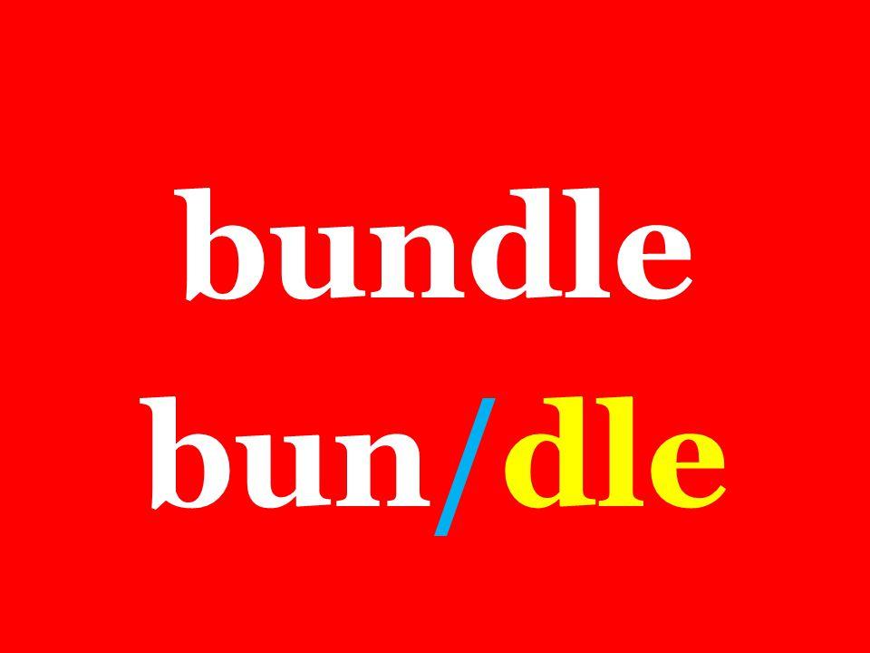 bundle bun/dle