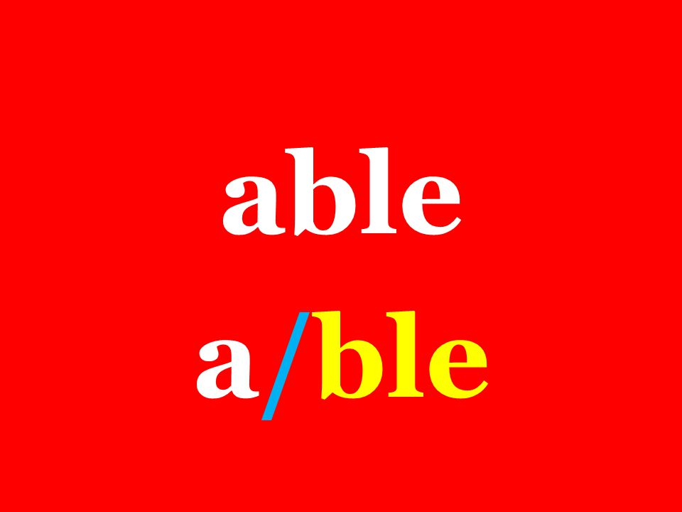 able a/ble