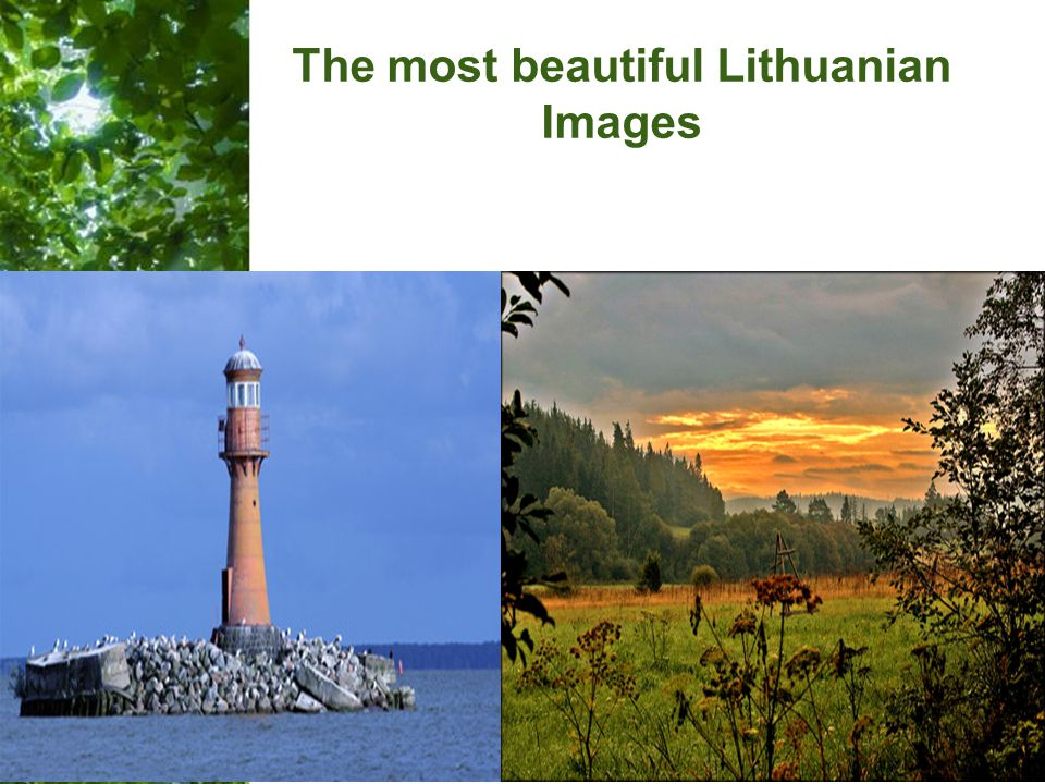 Free Powerpoint Templates Page 26 The most beautiful Lithuanian Images