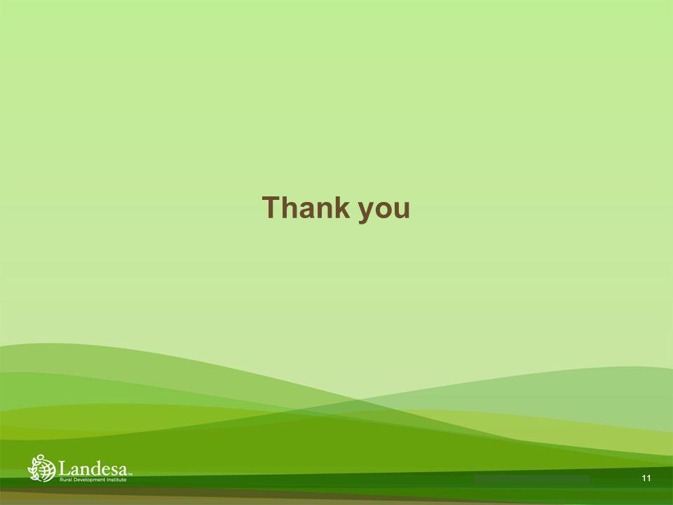 11 Landesa theory of change Thank you