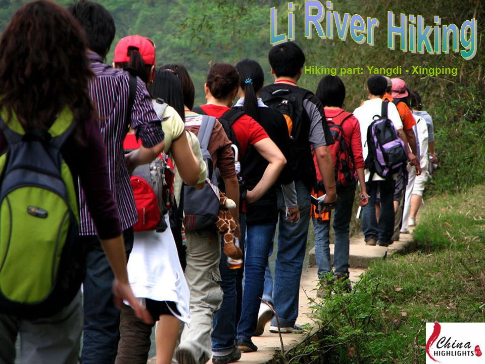 Hiking part: Yangdi - Xingping