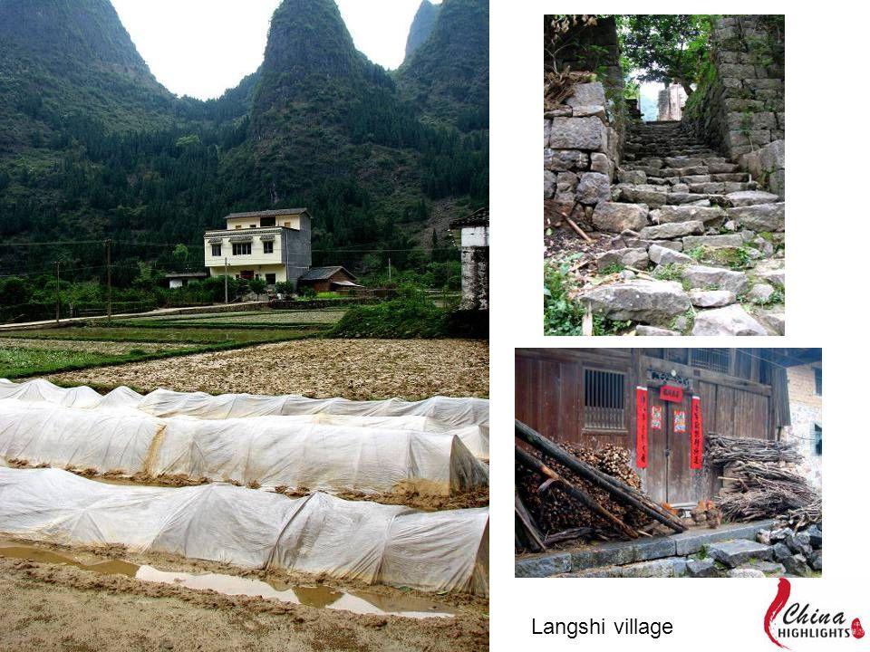 Langshi village
