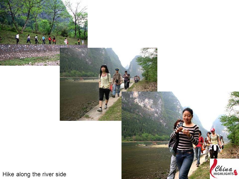 Hike along the river side