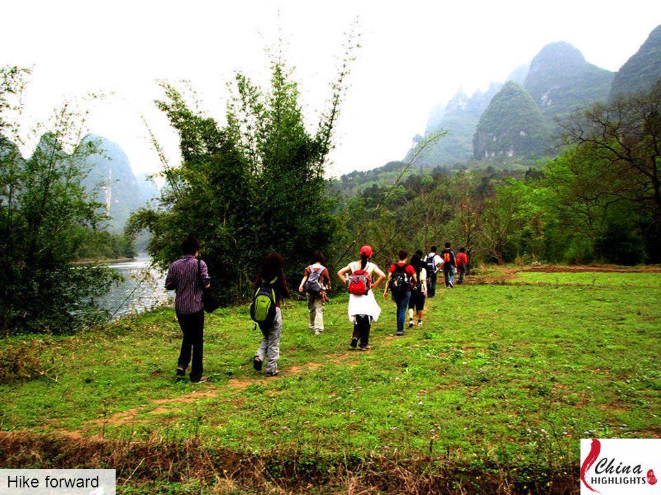 Hike forward