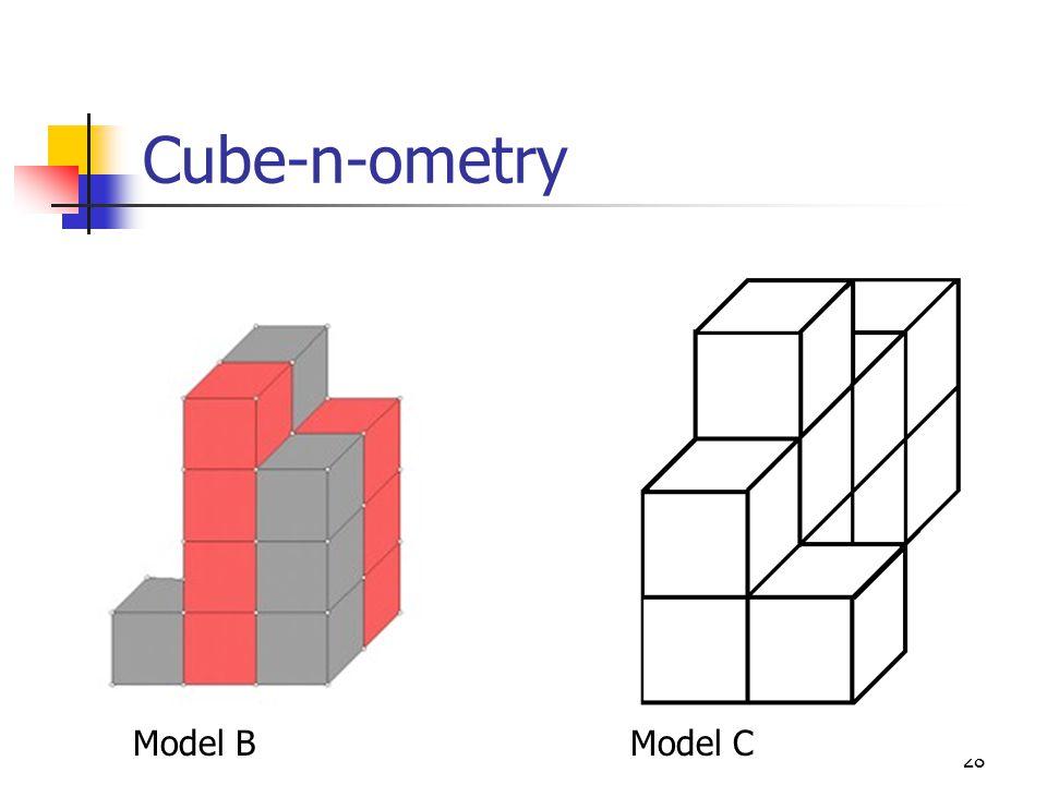 28 Cube-n-ometry Model BModel C