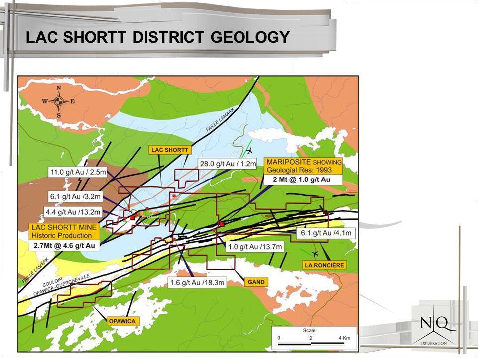 LAC SHORTT DISTRICT GEOLOGY