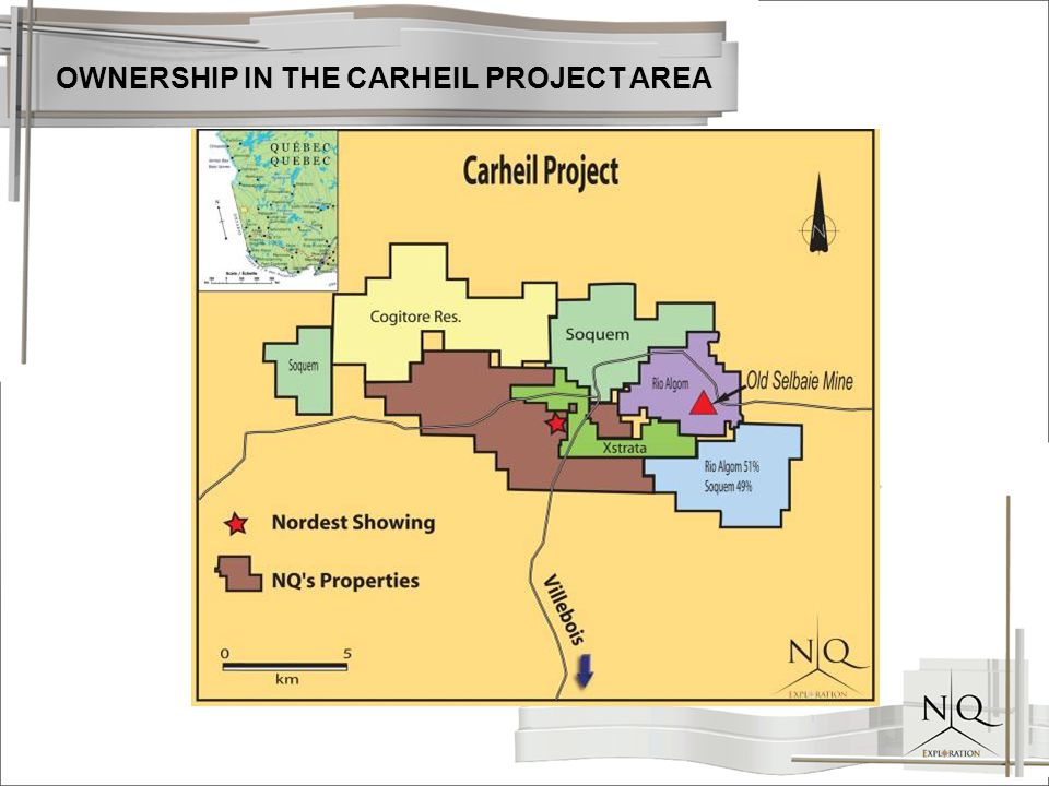 OWNERSHIP IN THE CARHEIL PROJECT AREA