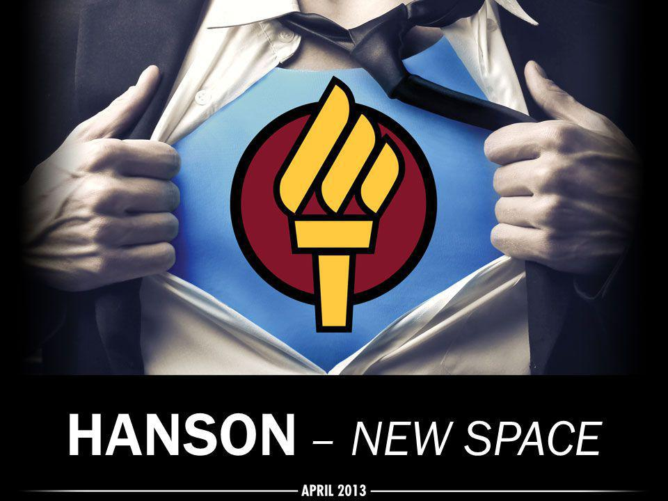 HANSON – NEW SPACE