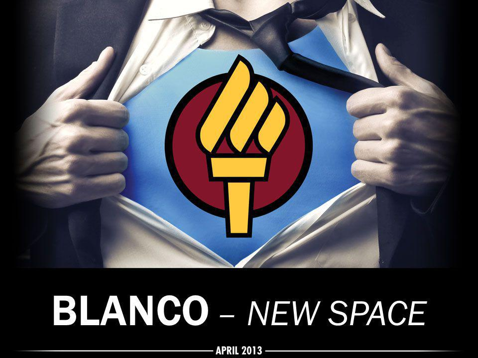 BLANCO – NEW SPACE