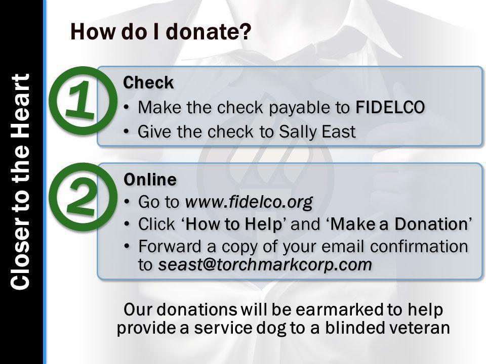 How do I donate.