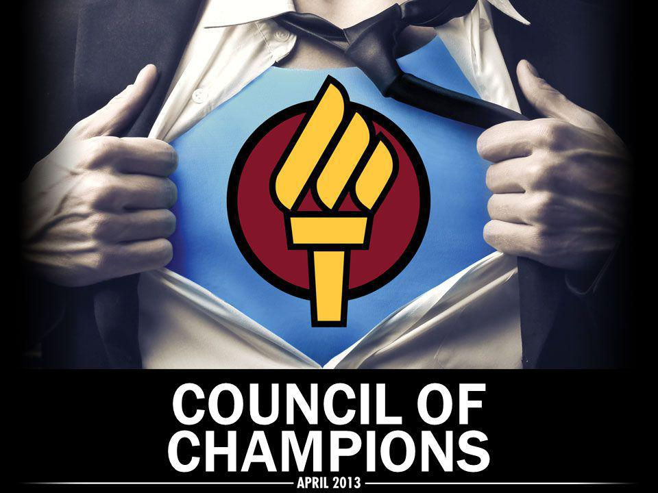 COUNCIL OF CHAMPIONS