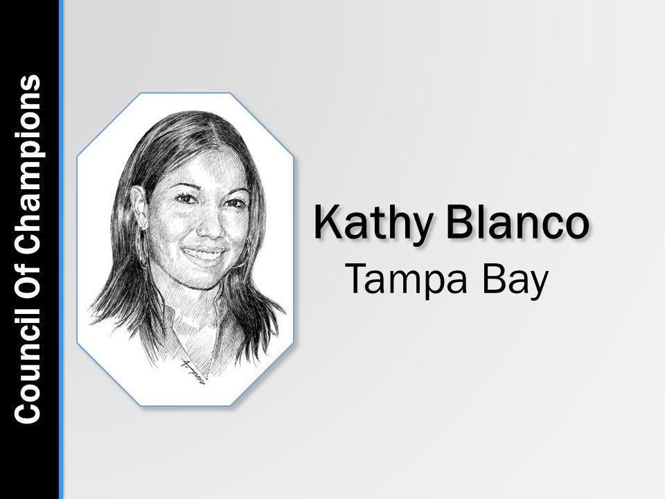 Kathy Blanco Tampa Bay Council Of Champions