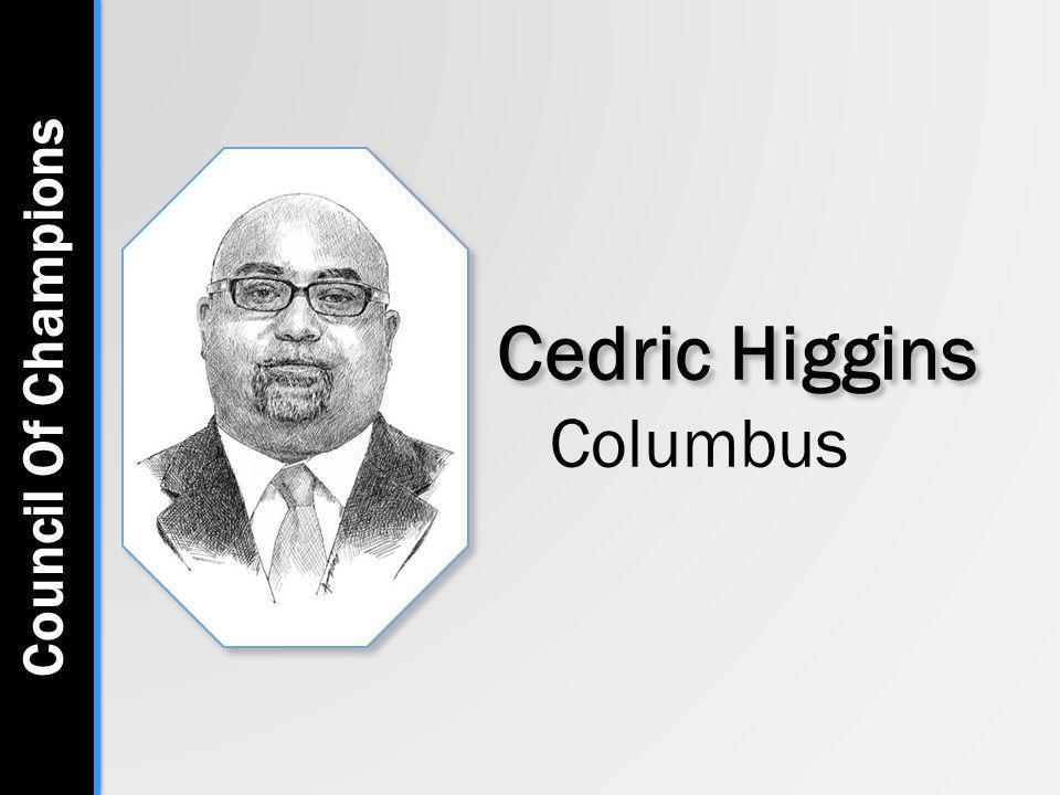 Cedric Higgins Columbus Council Of Champions