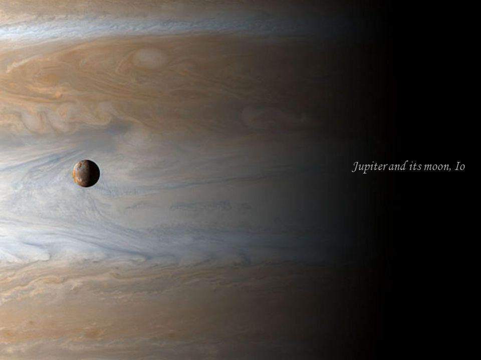 Jupiter and its moon, Io