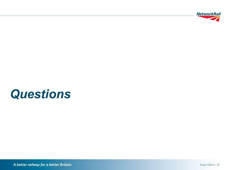 /9 April 201427 Questions
