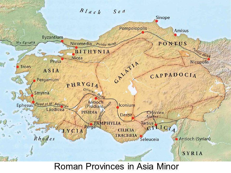 Roman Provinces in Asia Minor