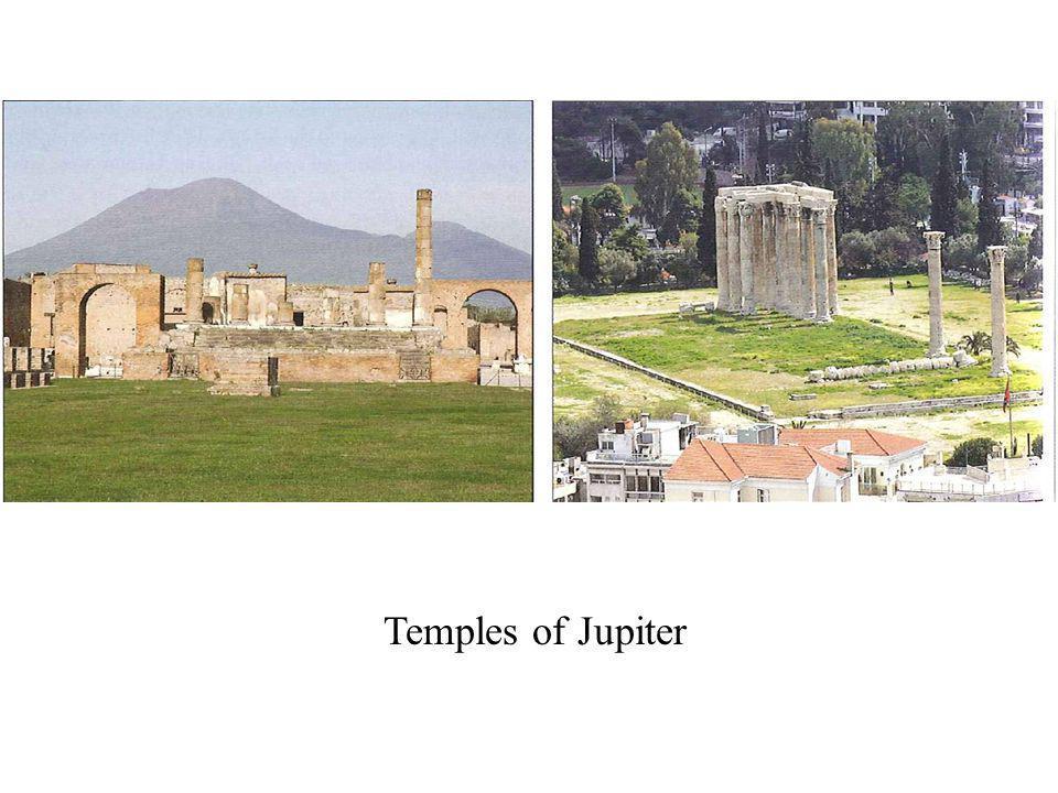 Temples of Jupiter