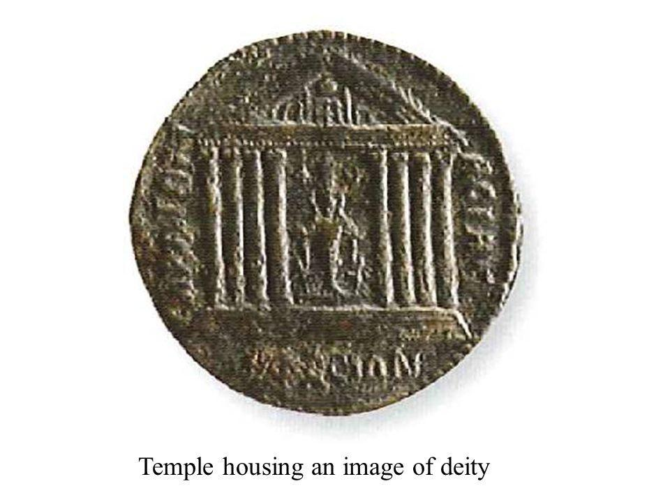 Temple housing an image of deity