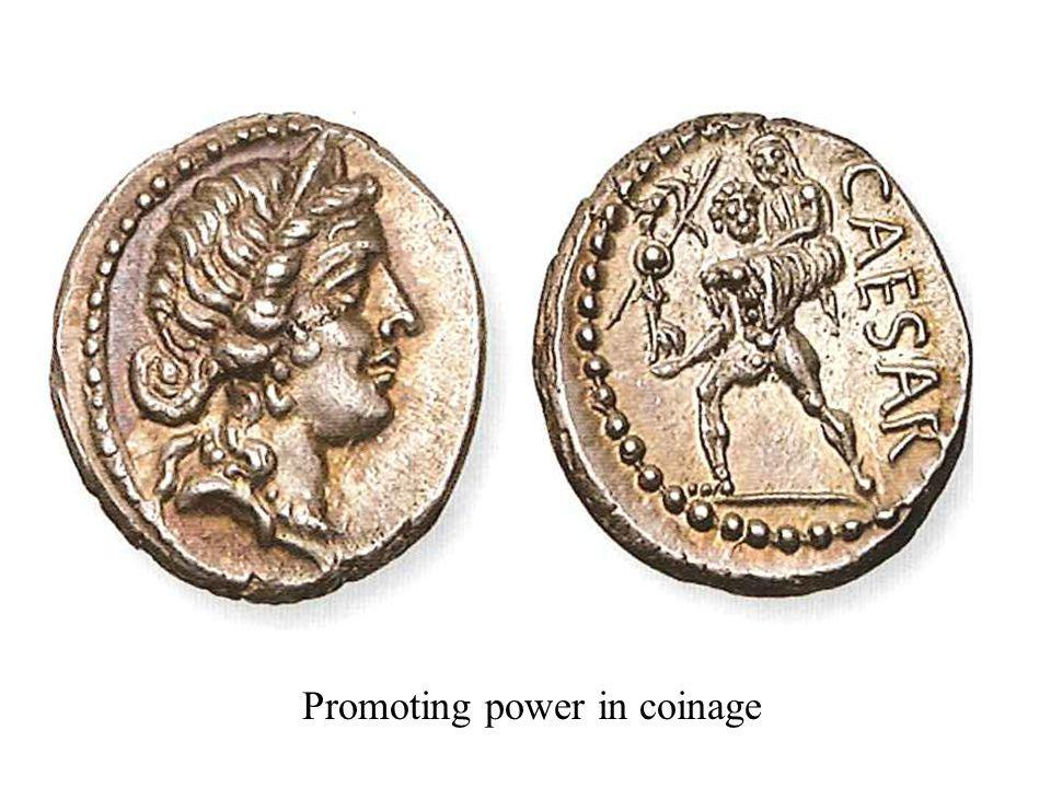 Promoting power in coinage