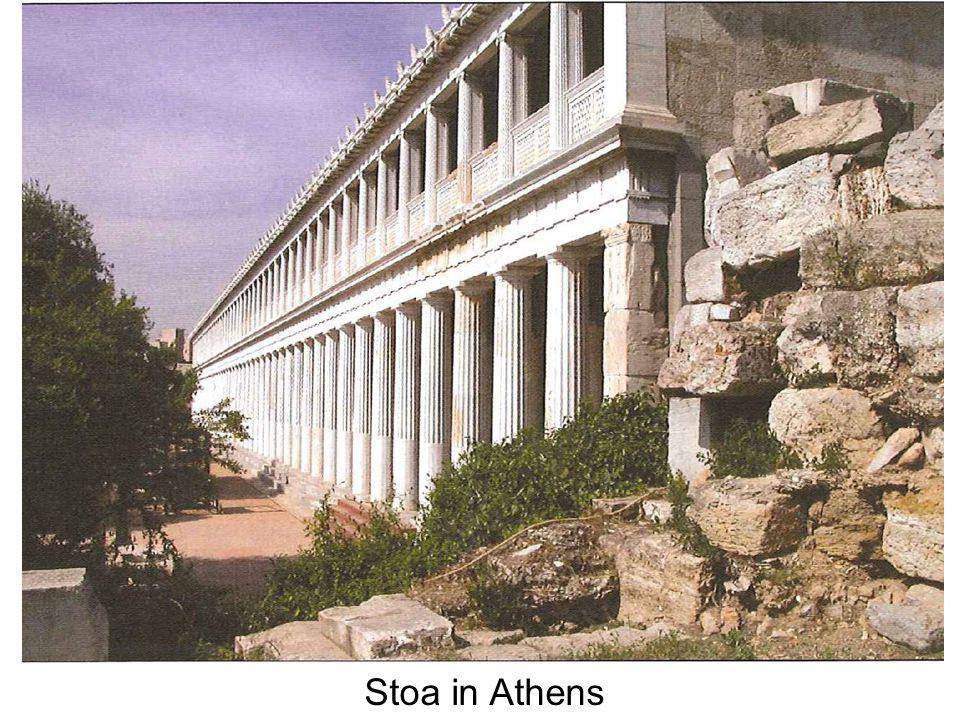 Stoa in Athens