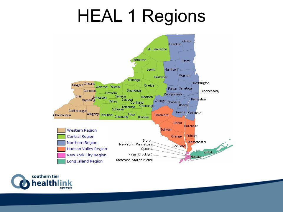 HEAL 1 Regions
