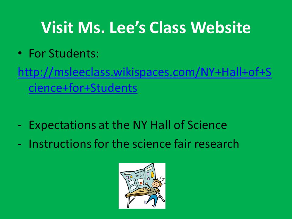 Visit Ms.