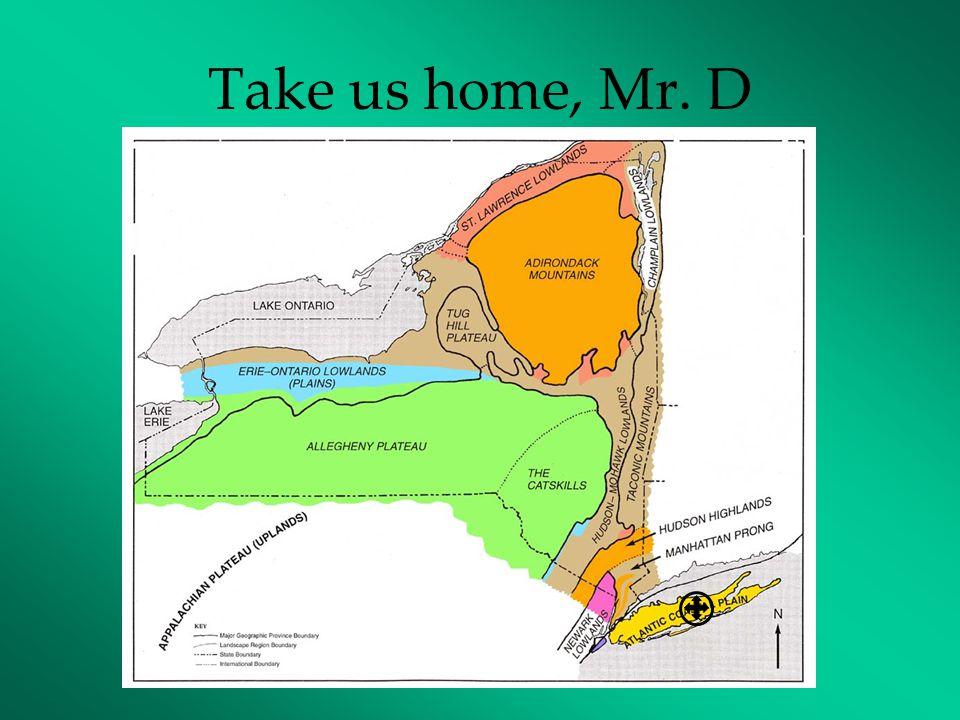 Take us home, Mr. D
