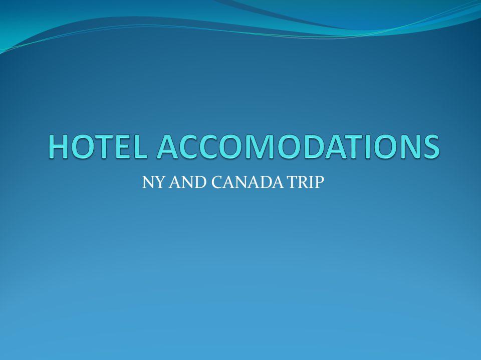 NY AND CANADA TRIP