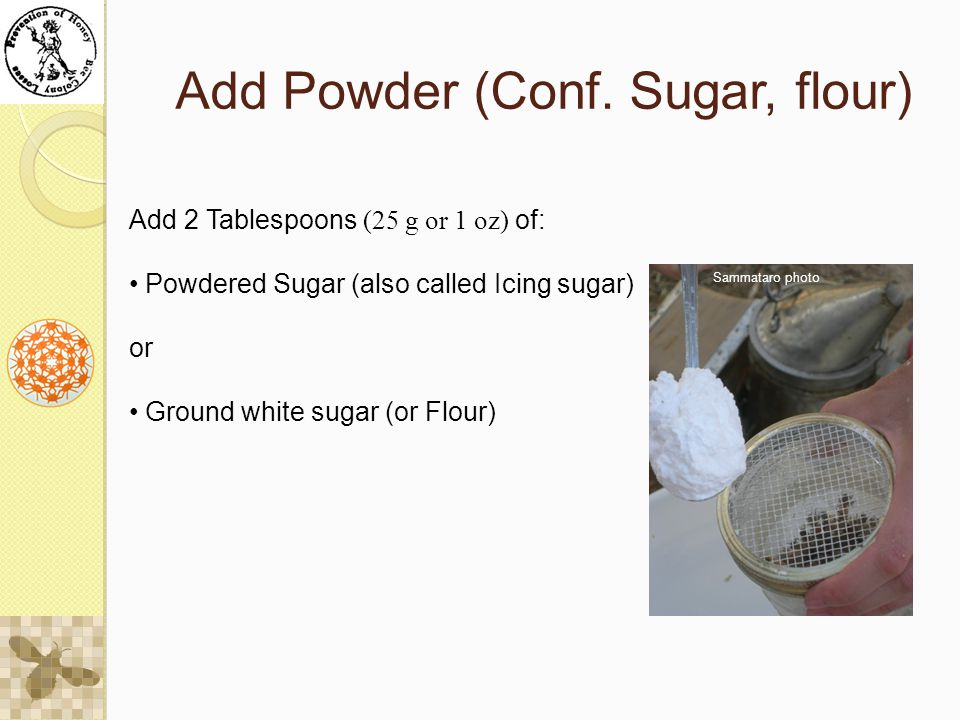 Add Powder (Conf.