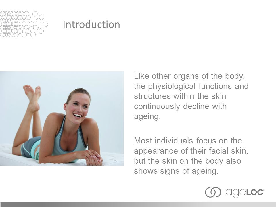ageLOC ® —proprietary Nu Skin ® technology that targets arSuperMarkers, the ultimate sources of ageing.